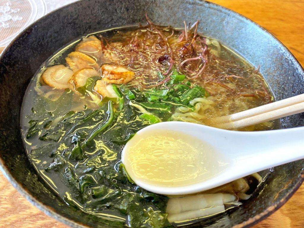 塩ラーメン(スープ)