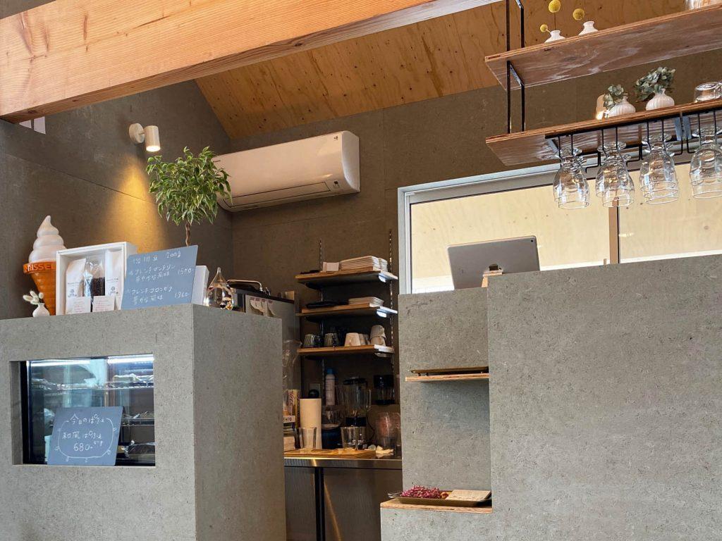 cafe SHIZUKU 店内