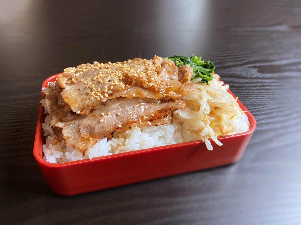 蓮桜 牛焼肉弁当