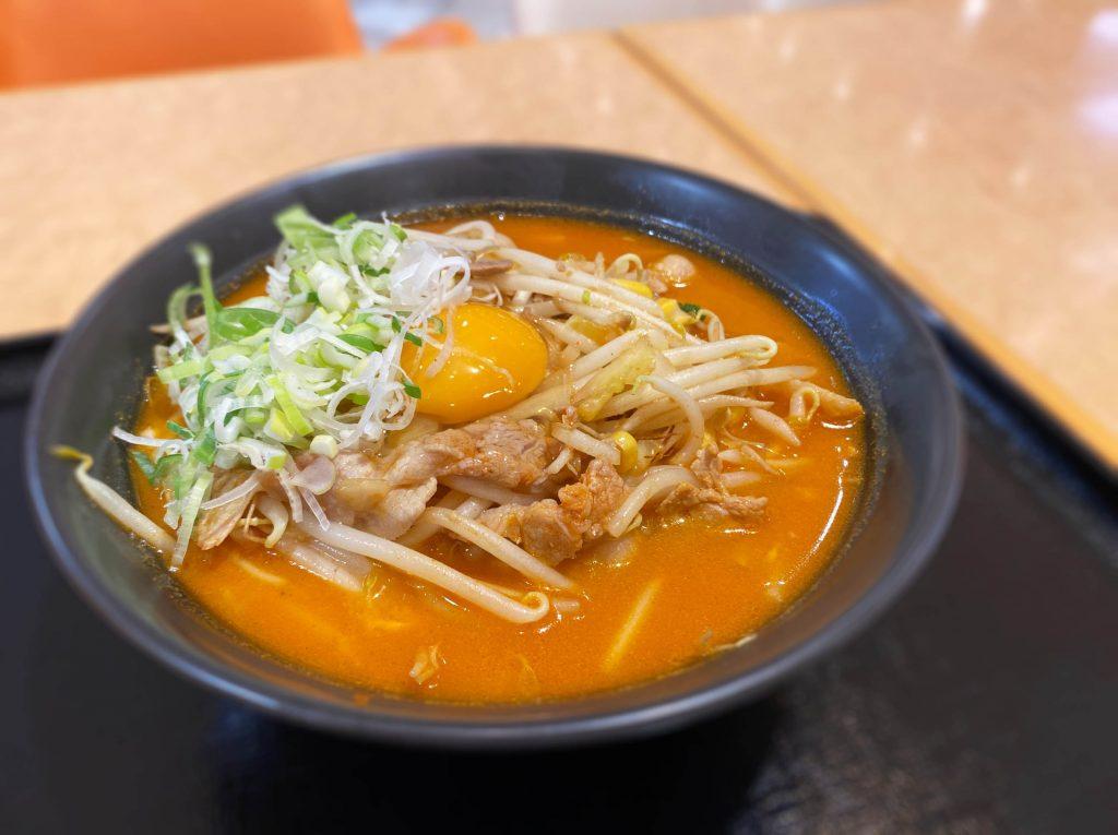 キムチ納豆ラーメン